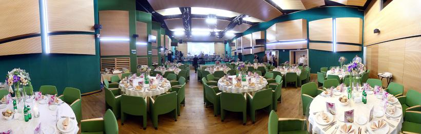 Green Hall for banquets